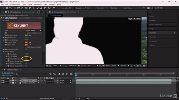 Clip Rollback: After Effects Guru: Keying with Keylight