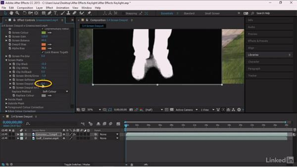 Screen Despot: After Effects Guru: Keying with Keylight