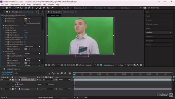 Inside Mask: After Effects Guru: Keying with Keylight