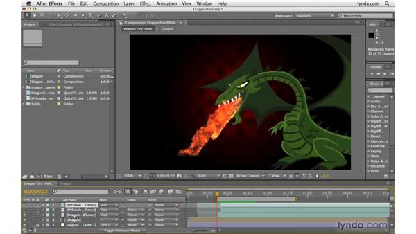 Exaggerating animation: After Effects CS4 Beyond the Basics