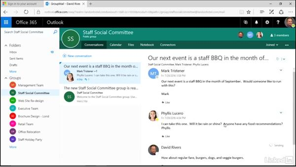 Welcome: Learn Office 365 Groups: The Basics