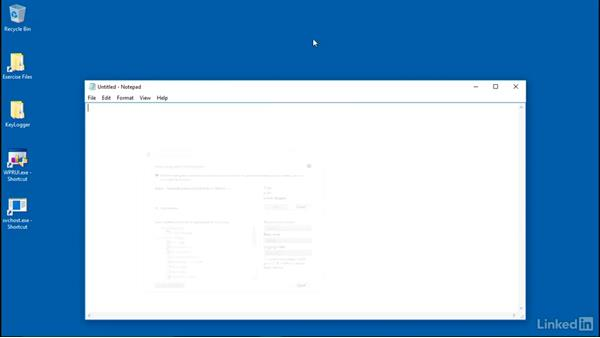 Gathering keylogger evidence: Windows Performance Toolkit: Spyware Detection