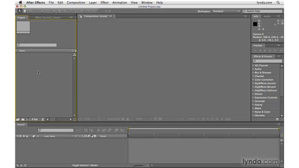 Importing Vanishing Point files: After Effects CS4 Beyond the Basics