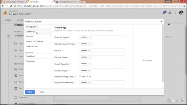 Advanced campaign setup in Google Analytics: Remarketing with AdWords and Analytics