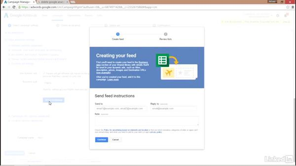 Creating a dynamic remarketing campaign: Remarketing with AdWords and Analytics