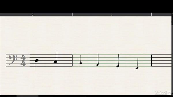 Bass clef: Learning Music Notation