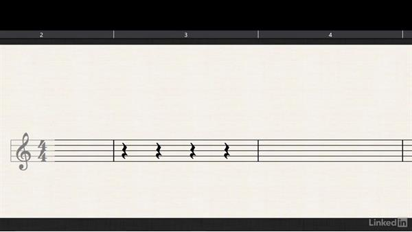 Whole, half, and quarter rests: Learning Music Notation