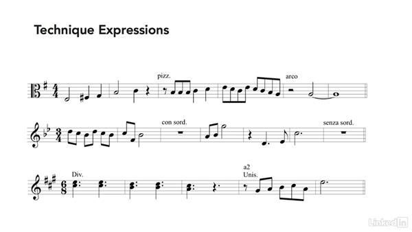Performance instructions: Learning Music Notation