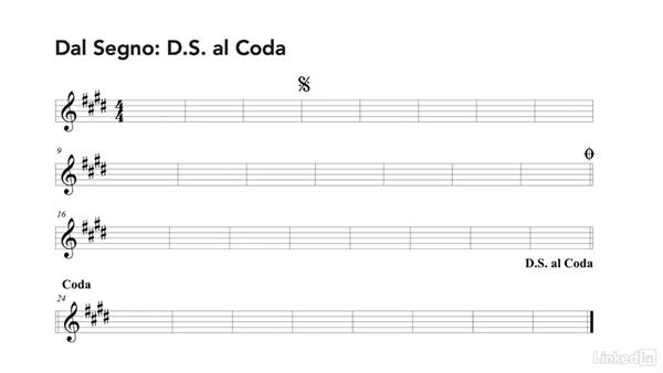 DC and DS repeats: Learning Music Notation