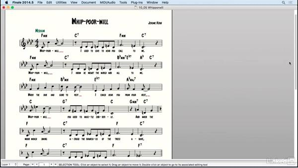 Lead sheet: Learning Music Notation