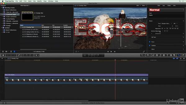 Overlay text: Final Cut Pro X Guru: Blending Mode Secrets