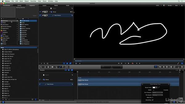 Building handwriting using Motion: Final Cut Pro X Guru: Blending Mode Secrets
