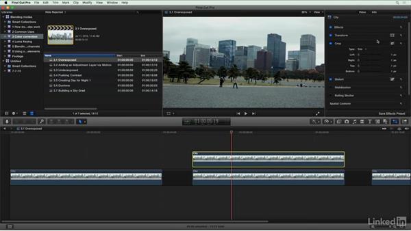 Helping a blown-out shot: Final Cut Pro X Guru: Blending Mode Secrets