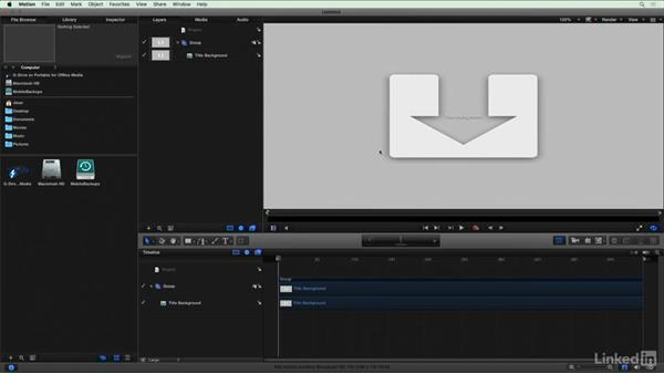 Adding an adjustment layer via Motion: Final Cut Pro X Guru: Blending Mode Secrets