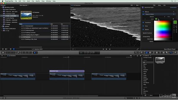 Duotone: Final Cut Pro X Guru: Blending Mode Secrets