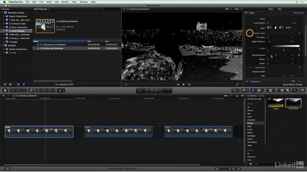 Softening shadows: Final Cut Pro X Guru: Blending Mode Secrets