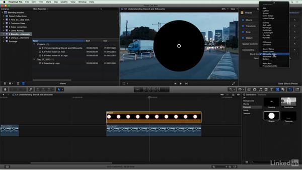 Understanding Stencil and Silhouette: Final Cut Pro X Guru: Blending Mode Secrets