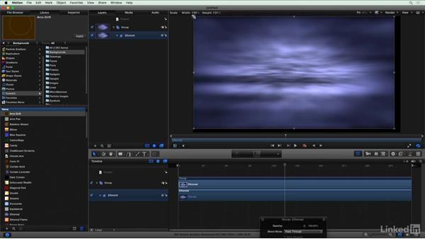 Organic look with Motion particles: Final Cut Pro X Guru: Blending Mode Secrets