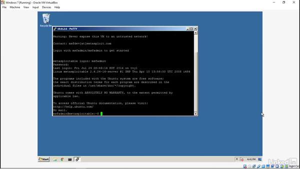 Hijacking a Telnet session