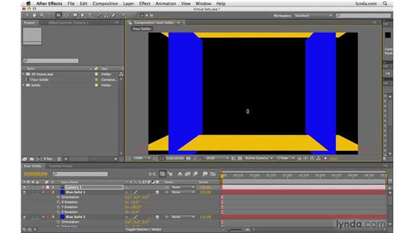 Creating a virtual set: After Effects CS4 Beyond the Basics