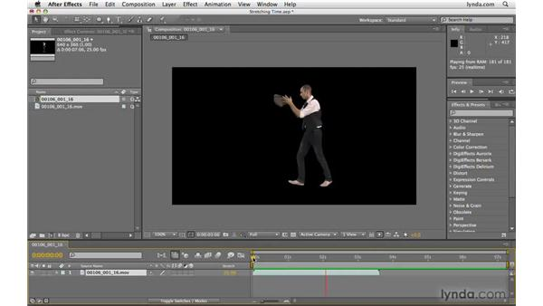 Stretching time: After Effects CS4 Beyond the Basics