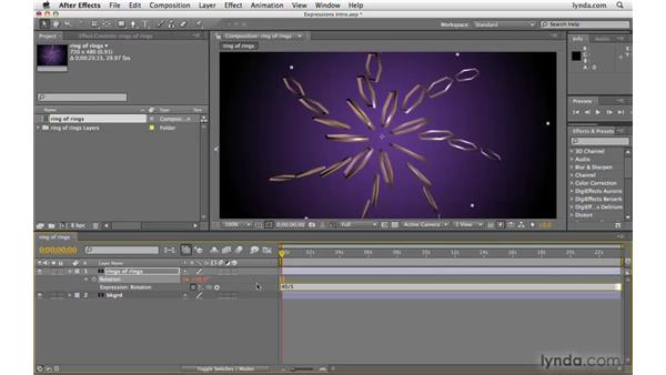 Understanding important expressions concepts: After Effects CS4 Beyond the Basics
