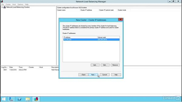 Configuring an NLB cluster: Windows Server 2012 R2: Implement Business Continuity and Disaster Recovery