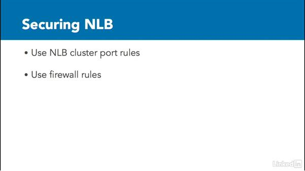Planning NLB implementation: Windows Server 2012 R2: Implement Business Continuity and Disaster Recovery