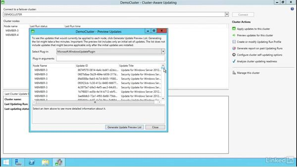 Configuring Cluster-Aware Updating (CAU): Windows Server 2012 R2: Implement Business Continuity and Disaster Recovery