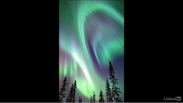 Locations to photograph the aurora borealis: Landscape Photography: Winter