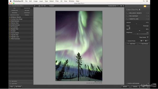 Using Photoshop for adjustments to aurora photos: Landscape Photography: Winter