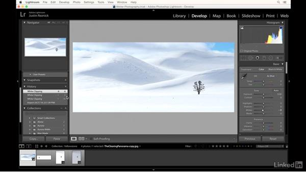 Looking at how to photograph in the snow: Landscape Photography: Winter