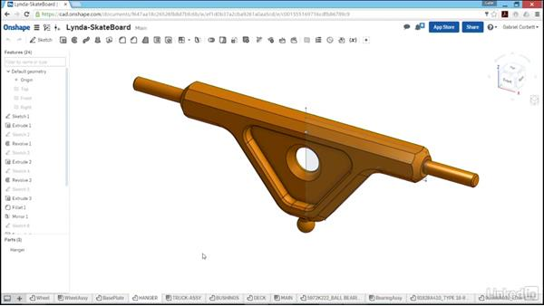 Skateboard project overview: Learn Onshape: The Basics