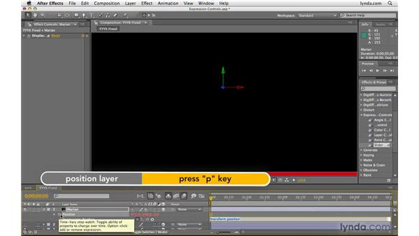 Using Expression Controls effects: After Effects CS4 Beyond the Basics