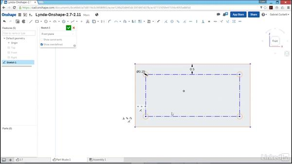 Creating offset geometry and converting geometry: Learn Onshape: The Basics