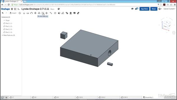 Creating assemblies and mate connectors: Learn Onshape: The Basics