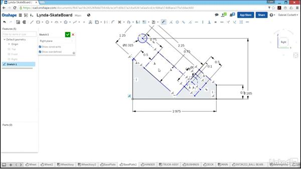 Building the base plate: Learn Onshape: The Basics