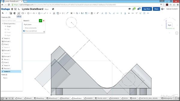 Designing the king pin: Learn Onshape: The Basics