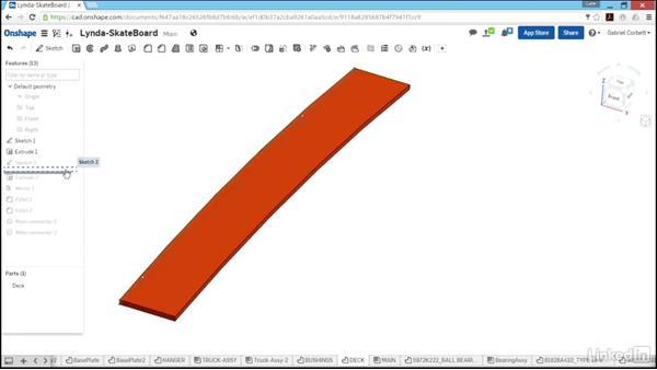 Design the deck: Learn Onshape: The Basics