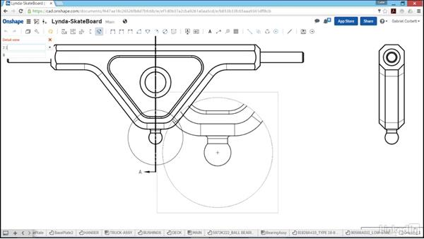Part drawings: Learn Onshape: The Basics