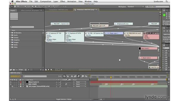 Using the Flowchart: After Effects CS4 Beyond the Basics