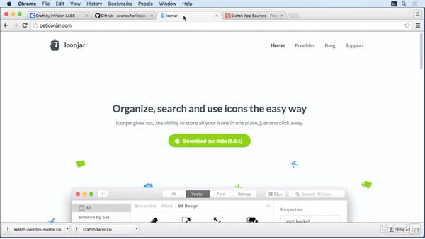Plug-ins and tools with Sketch: Learn Sketch: Mobile Design Workflows