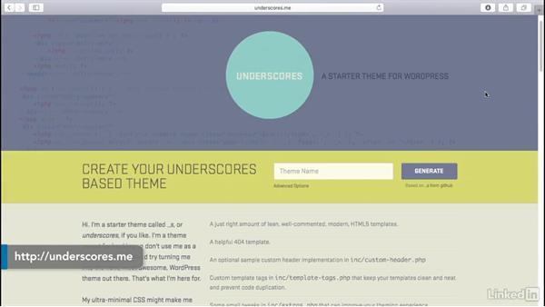 Starter themes: WordPress: Customizing WooCommerce Themes