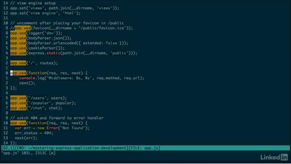 Middleware: Mastering Express Web Application Development