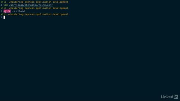 Nginx and Node.js: Mastering Express Web Application Development