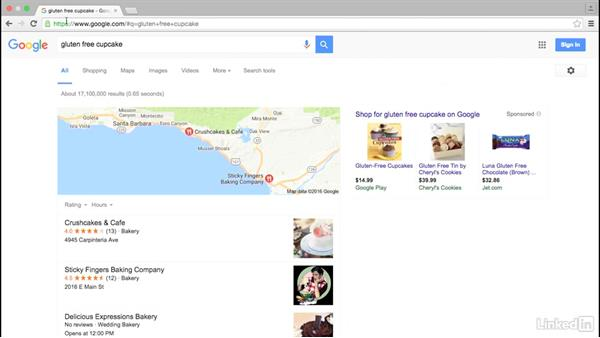 Identify your top keywords: Local SEO