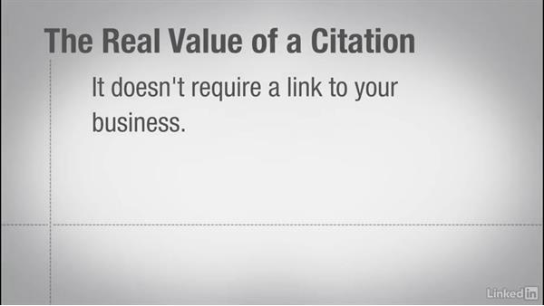 What is a citation?: Local SEO