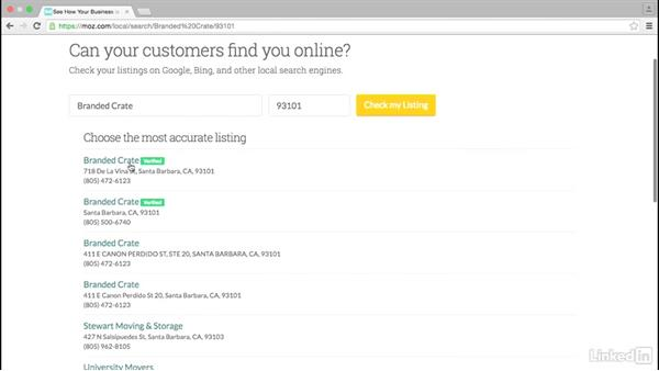 Keep your NAP (name, address, phone) consistent across the web: Local SEO