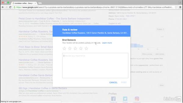Secure reviews on Google and other sites: Local SEO