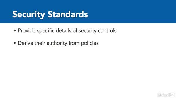 Security policy framework: CISSP Cert Prep: 1 Security and Risk Management